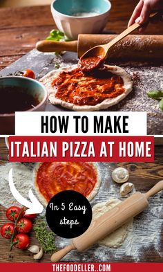 Check our authentic Italian pizza recipe and make your pizza dough at home in 5 easy steps. This pizza dough is authentically Italian and in this article you'll also learn the secrets to the best pizza, what flour to use, how to make sure the ingredients are good and everything you may need to make and bake the perfect Italian pizza at home #italianfood #italianpizza #pizza #pizzalovers Easy Summer Meals, Summer Recipes, Barbecue Recipes, Pizza Recipes, World's Best Food, Good Food, Delicious Dinner Recipes, Delicious Food, Ono Fish Recipe