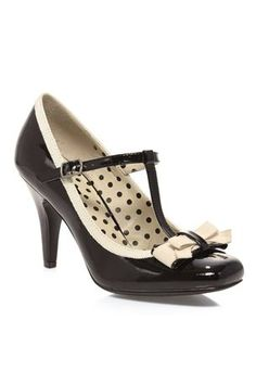 Black/Cream with polka dots!!!!