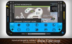 Windows 8 Tablet Concept