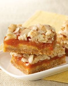 Apricots, cardamom and almond flavoring team up in this elegant bar that starts with a pouch of our sugar cookie mix!
