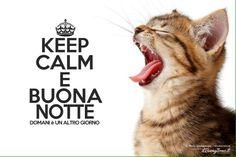 Keep calm.....buona notte