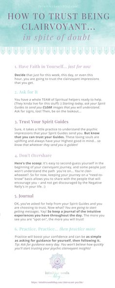 Totally normal when you're a beginner psychic. Here's how to start trusting your psychic clairvoyance .even when you don't feel confident! Psychic Development, Spiritual Development, Psychic Powers, Psychic Abilities, Spiritual Healer, Spiritual Awakening, Spiritual Wisdom, Spirituality Art, Have Faith In Yourself
