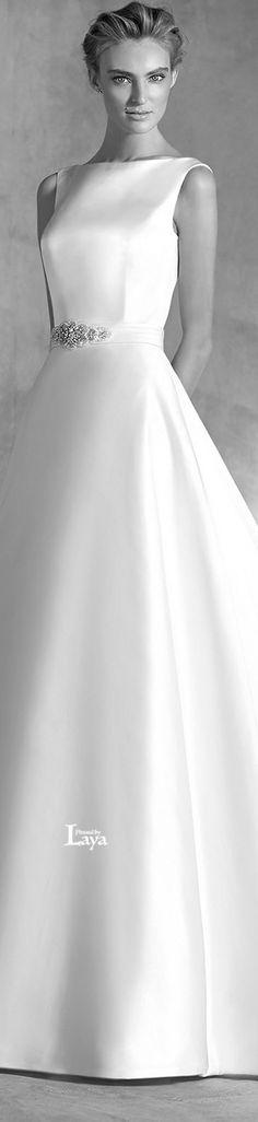 ♔LAYA♔ATELIER PRONOVIAS 2016 BRIDAL♔ Bride Gowns, Bridal Dresses, Wedding Gowns, Vintage Dresses, Nice Dresses, Pronovias Bridal, Beautiful Gowns, Dream Dress, Elegant Wedding