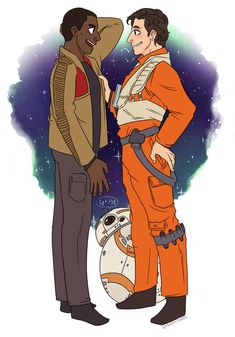 """""""Literally anything Stormpilot (Finn and Poe.)"""" 