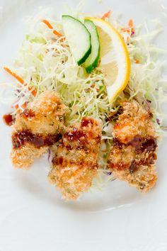 Fried Oysters - Recipe Included.