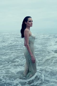 Angelina Jolie Pitt by Annie Leibovitz, Vogue US, November 2015.
