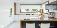 Projekt domu HomeKoncept 33 - Kuchnia, styl nowoczesny - zdjęcie od HomeKONCEPT Projekty Domów Nowoczesnych