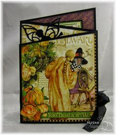 Miriam's Delirium: Graphic 45 - An Eerie Tale Angle Card
