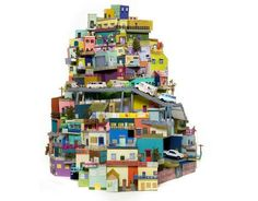ART | 26 Impressive works of art made from recycled materials - IlluzoneIlluzone