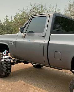 """Old Squarebody Trucks on Instagram: """"Owner @87chevy383 #old_squarebody_trucks"""" Chevy K10, Chevy Pickup Trucks, Chevy Pickups, Buick Regal, Diesel Trucks, Cool Trucks, Badass, Antique Cars, Monster Trucks"""
