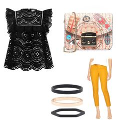 """""""Girls night out"""" by bogdana-zadic on Polyvore featuring Zimmermann, Gap, Furla and Accessorize"""