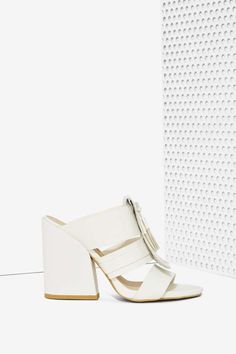 Vevey Vegan Leather Mule | Shop What's New at Nasty Gal