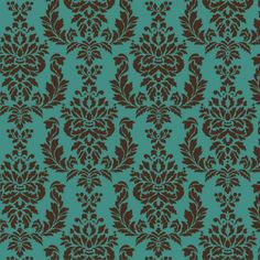 Verde Damask Craft Stencil - Size Small - Better Than Wallpaper! Easy Furniture Refinishing! by CuttingEdgeStencils
