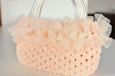 Crochet bag by Rosaverdebijoux on Etsy