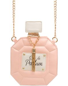 EAU DE PERFUME BAG in BABY PINK! Get it at SHOPJEEN.com !