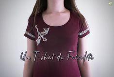 [ARTICLE] Un T-shirt de Frivolité #tatting #frivolité #shuttletatting #frivolitéàlanavette #dragon #bordures #edges