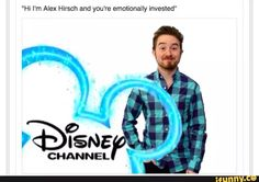 Alex Hirsch on Disney Channel<<who knew such an adorable face would reak so much havoc in my life