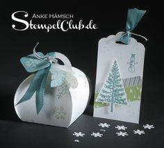 Stempelclub Leipzig - mit Stampin' Up!® Curvy Keepsake Box, Zierschachtel, Christmas, Weihnachten