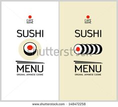 Sushi And Rolls Stock Vectors & Vector Clip Art | Shutterstock
