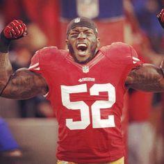 """My Motivator #PatrickWillis #49ers"""