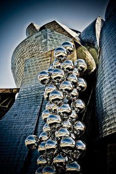 Guggenheim Museum, Bilbao, Spain. @Deidré Wallace