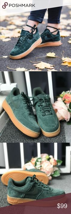 f25ed22fc70f7b NWT Nike Air Force 1 07 Outdoor Green WMNS Brand new with box