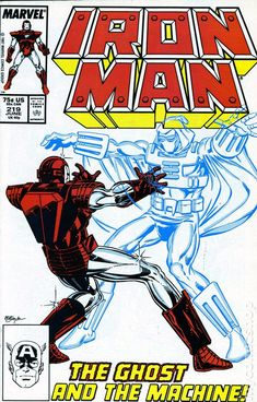 Iron Man (1968 1st Series) 219  Marvel Comics Modern Age Comic book covers Super Heroes  Villians