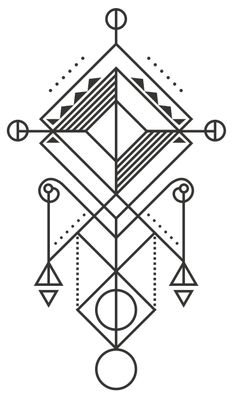 1000+ images about Geometric Tattoos on Pinterest | Simple ...