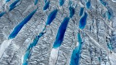 Greenland Ice Sheet  #Blue #Frozen #Greenland #Ice