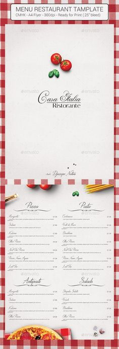 Give your restaurant a makeover with these premium, modern, minimalist and clean Menu Flyer. portrait x double sided design. Easy to edit templates in Photoshop. Ready to print in resolution, CMYK color mode. Includes in bleeds. Restaurant Menu Template, Restaurant Flyer, Restaurant Kitchen, Menu Flyer, Food Menu, Food Food, Print Templates, Portfolio Design, Flyer Template