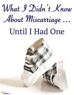 If you've never experienced a miscarriage, this is a great read to have better understanding of what a woman goes through.