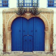 Sidi Bou Saïd in Gouvernorat de Tunis, Tunisia