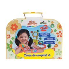 Micul-artist-trusa-de-crosetat Lunch Box, Marketing, Baby, Shopping, Bento Box, Baby Humor, Infant, Babies, Babys