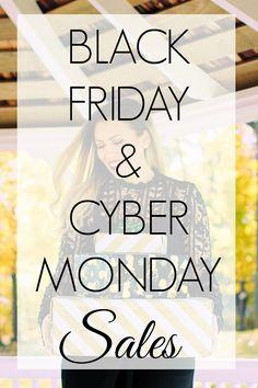 Black Friday & Cyber Monday Sales 2016