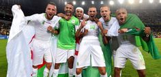 La selección de Argelia dona sus primas a la causa palestina