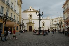 Plaza San Francisco, Cádiz.