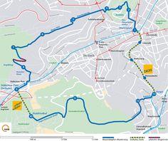 Ausflugstipp in Stuttgart: Den Blaustrümpflerweg (an)gehen