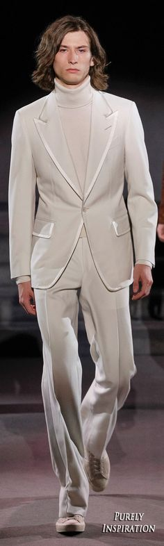 Tom Ford FW2016 Men's Fashion | Purely Inspiration