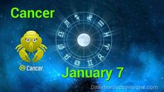 cancer daily horoscope january 2