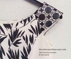 Szew i rzeczy: ubrana w czarno-WHITE