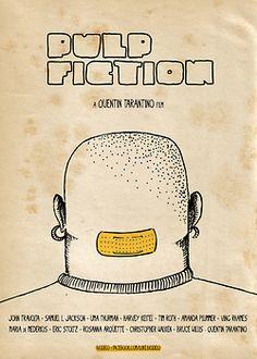 Minimal Movie Posters: Pulp Fiction