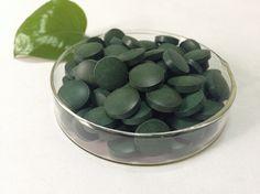 1000 pieces Organic chlorella tablet Chlorella vulgari pills 250mg tablet free shipping
