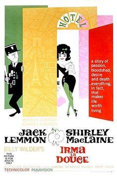 *IRMA LA DULCE ~ Shirley Mac Laine & Jack Lemmon, 1963