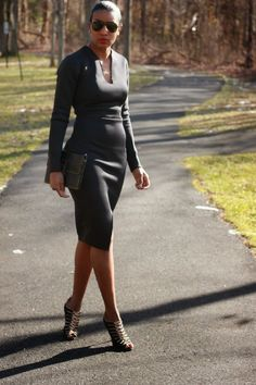 DIY- Neoprene dress Beaute' J'adore