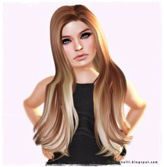 Moda no SL by Luah Benelli: Virtual Diva - New Hair!!!