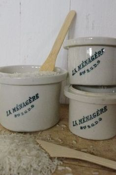 french vintage jars