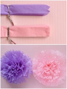 1 wall flower 1 butterfly girls birthday party decorations tissue paper wall but. in Tessuto di Carta Rari 🌹 Tissue Paper Crafts, Paper Flowers Craft, Flower Crafts, Diy Flowers, Diy Paper, Fabric Flowers, Fleurs Diy, Tissue Paper Flowers, Paper Flower Tutorial
