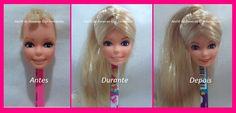 Ateliê de Bonecas Gigi Fernandes: Restauração boneca Barbie, Estrela, 1982