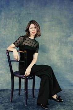Sofia Coppola photographed at Milk Studios in New York City on April 29, 2013 for The Hollywood Reporter's Cannes Film Festival Issue. ©Ruven Afanador