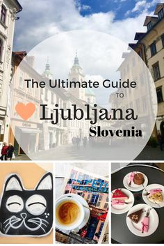Ljubljana, Slovenia - Includes Things to Do, Where to Stay, Eat, Drink and Shop. Complete with Printable Travel Guide to take with you!